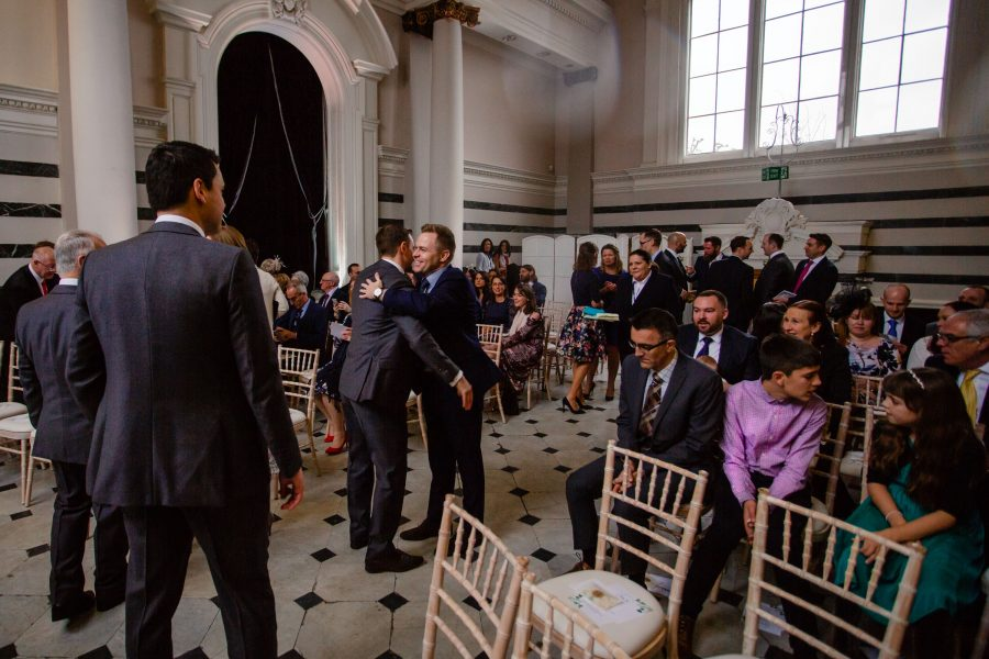 sunbeam studios wedding ceremony