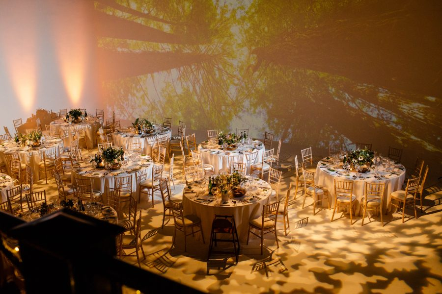 sunbeam studios wedding reception venue shot