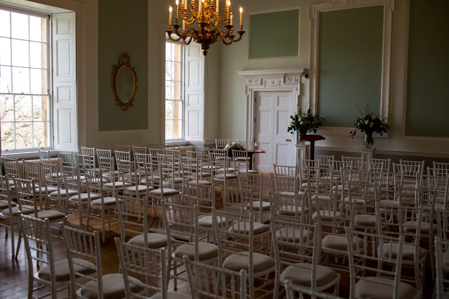 ceremony room at Botleys mansion