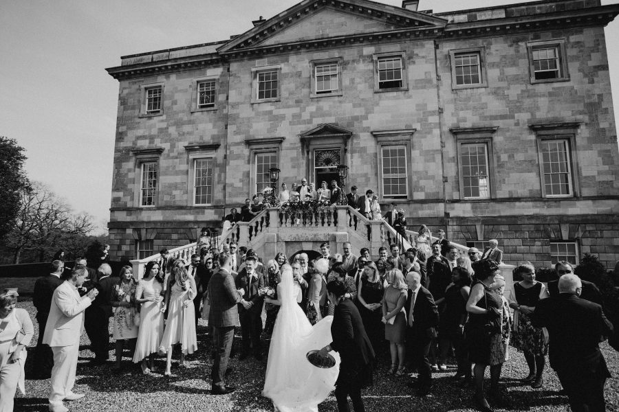 Informal Group image at Botleys Mansion Wedding