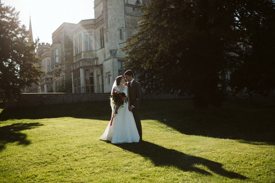 bridal portrait at Ashridge House