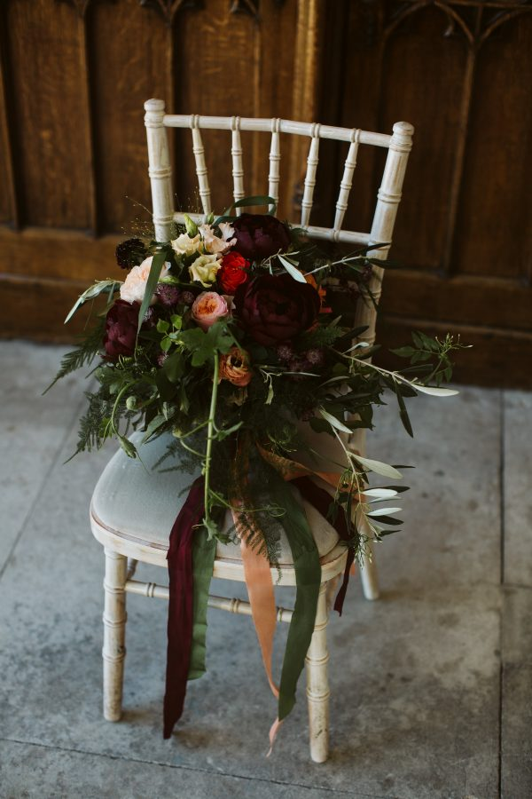 rebecca marsala wedding flowers