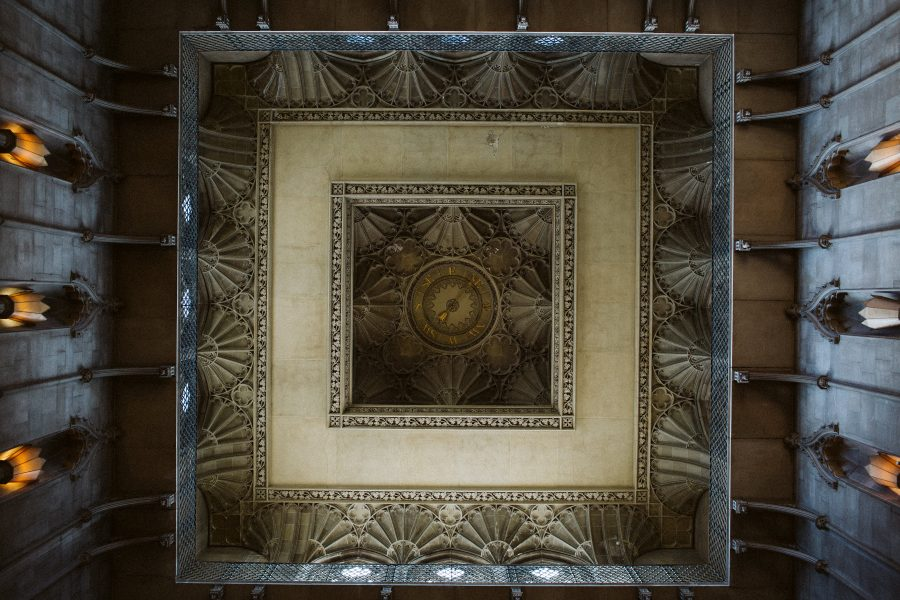 Ashridge House ceiling