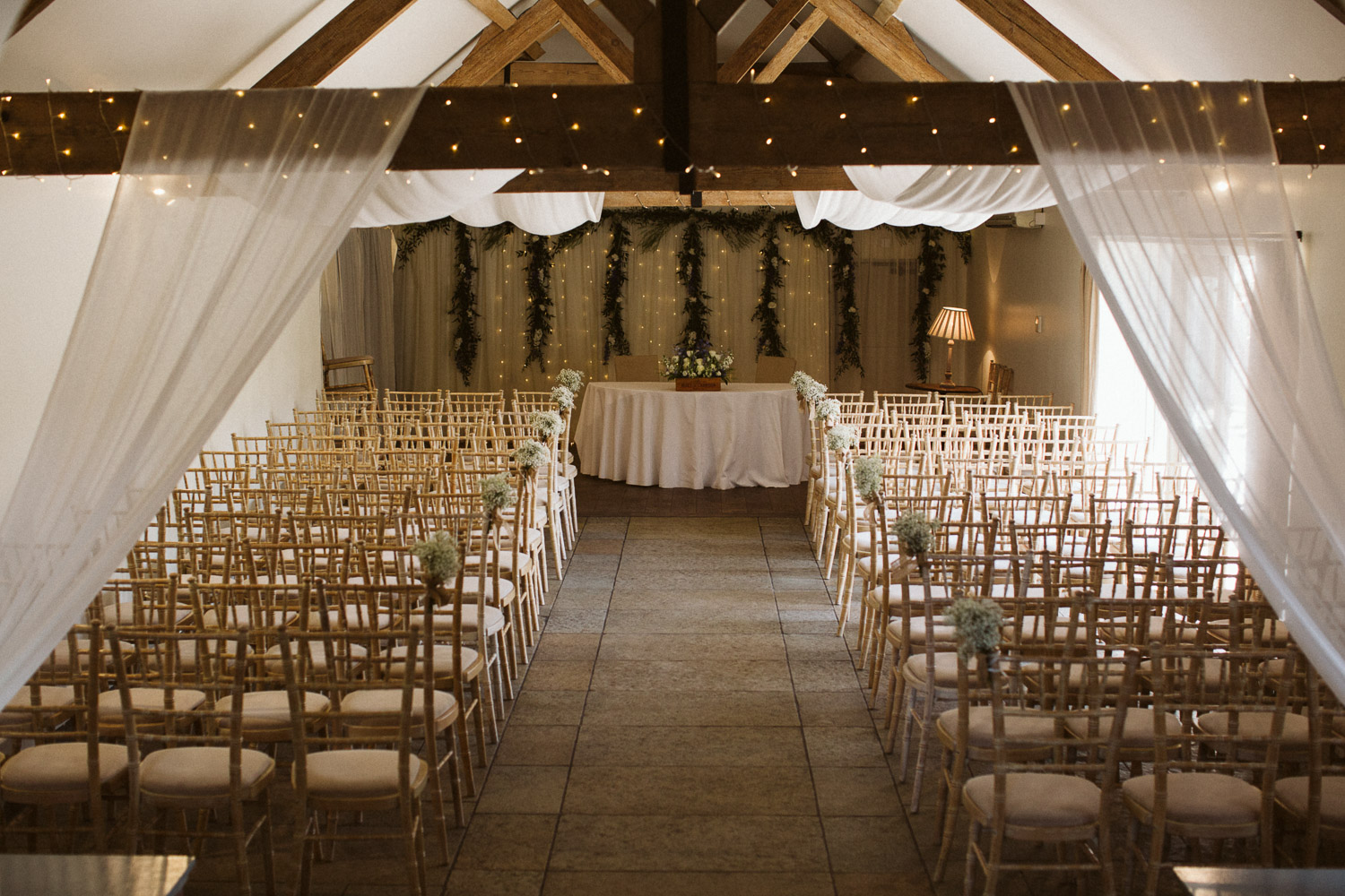 the small barn, a beautiful ceremony room