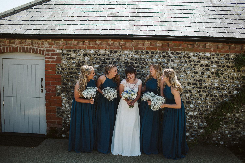 bridesmaids nice light