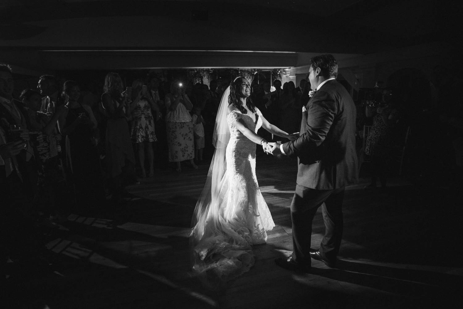 newlyweds during the first dance