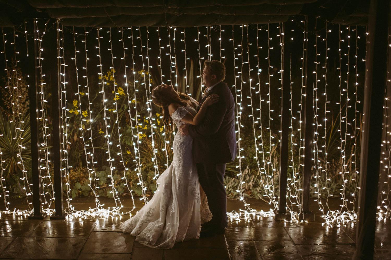editorial image of newlyweds