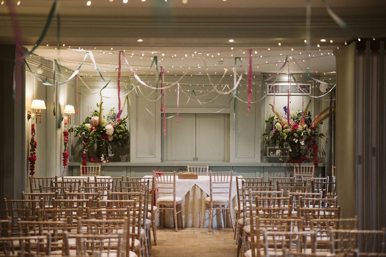 Bingham Riverhouse Wedding Ceremony Room