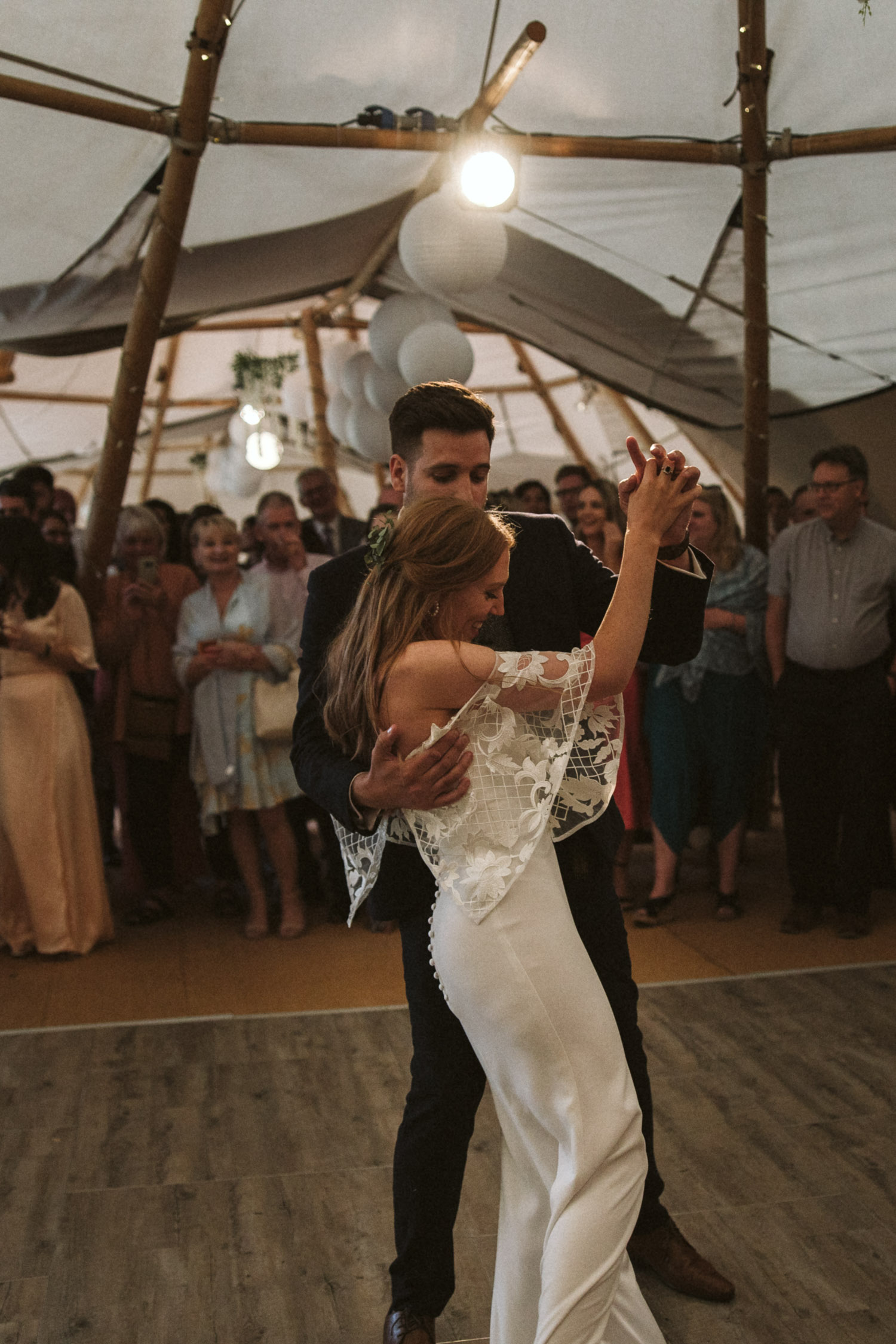 the couples dance moves during the first dance