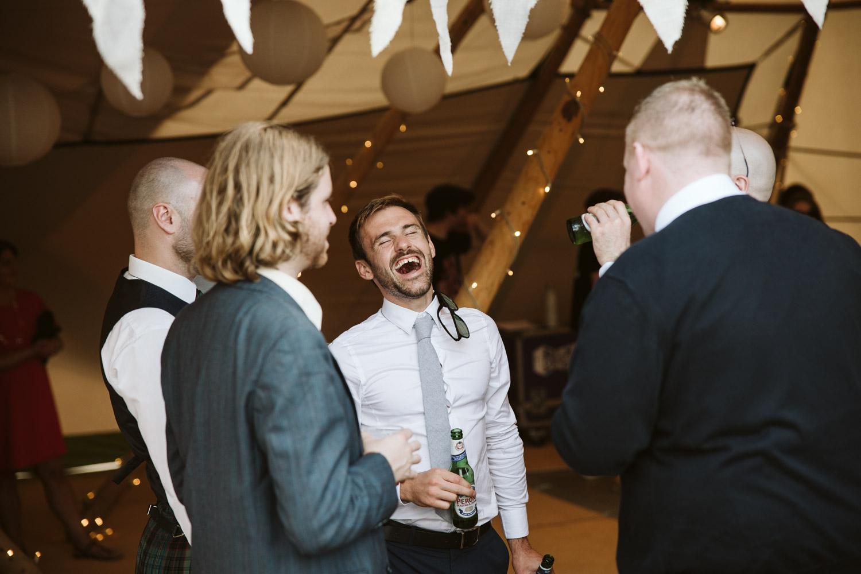 boys having a laugh